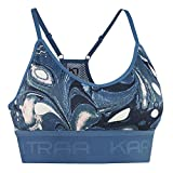 Kari Traa Var 2020 - Sujetador deportivo para mujer, color azul marino, ASTRO, extra-large