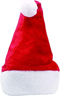 Plush Christmas Hat for Festival Celebration,11.4X15.7〃