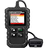 LAUNCH CReader 3001 OBD2 スキャナー OBD II EOBD 車用障害コードリーダー プロフェッショナル自動車診断ツール DTC エンジン確認灯 スキャンツール O2センサー対応 EVAPシステムテスト