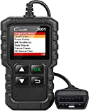 LAUNCH Creader 3001 OBD2 Scanner with Full(10) OBD2 Function ,Automotive Engine Fault Code Reader CAN Scan Tool for OBD2 Protocol Vehicles Since 1996 (2020 Upgradable Version)