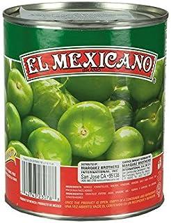 Ganze Grüne Tomatillos, Dose 767g - Abtropfgewicht 409g -- Tomatillos Enteros EL MEXICANO --