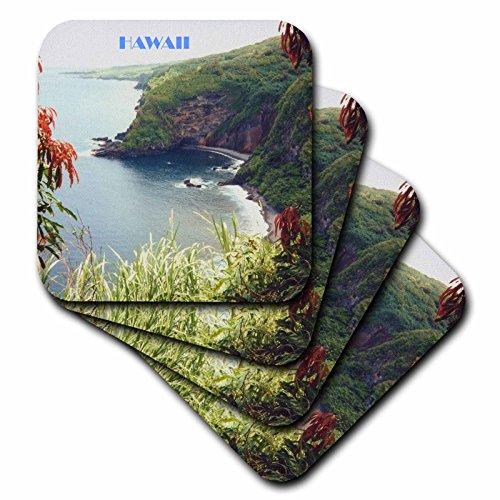 3dRose CST_28329_2 Hana Beach Hawaii-Untersetzer, 8 Stück