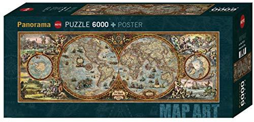 Heye- Puzzle Panoramico Rajko Zigic Emisfero, 6000 Pezzi, VD-29615