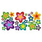 ORAFOL 23 Aufkleber Auto Hippie Blumen Flower Power Sommer perfekt für VW Bulli California