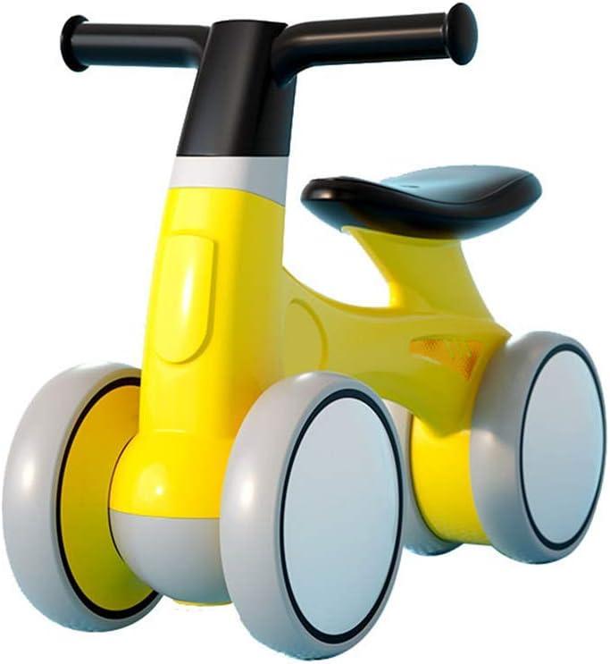 HFJKD Baby Scooter Toddler Balance Bike 1 a 3 Sin Pedal Baby Slide Car Child Niños Indoor Cute Kids Bike Infant