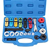 Thorstone 22pcs Master Quick Disconnect Tool Kit for Fuel Line Disconnection,Transmission Oil Cooler Line-AC Line-Air Conditioning Disconnect Tool ac coolers Apr, 2021