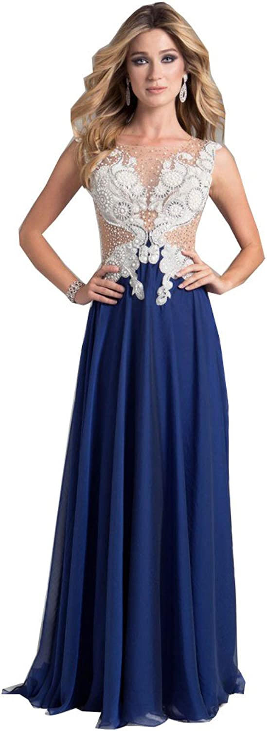 Kelaixiang bluee Aline Homecoming Evening Prom Party Dress For Women