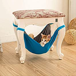 LCLZ New Pet Kitten Hammock Chair Chinchillas Hammock Mat Mat Indoor And Outdoor Spring And Summer Double-sided Crate