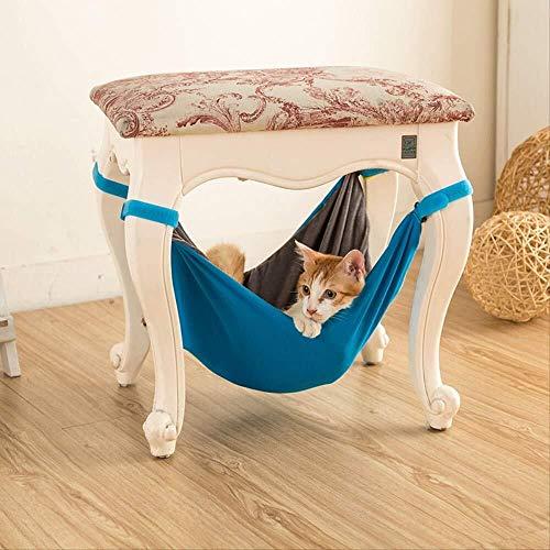 Bradoner Nueva Mascota Kitten Hamaca Silla Chinchilla Hamaca Mat Mat Interior Y Exterior Primavera Y Verano De Doble Cara
