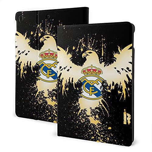 Golden Re-Al Ma-Dri-D iPad 10.2/10.5, funda para iPad Air 3 de 10.5 pulgadas, iPad 7 de 10.2 pulgadas, función de encendido y apagado automático, cubierta de pie