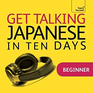 Get Talking Japanese in Ten Days audiobook cover art