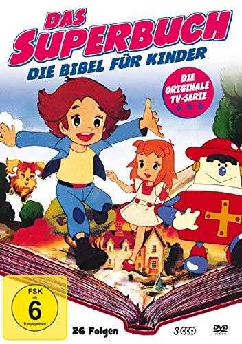 Das Superbuch - Original TV Serie (Box mit 26 Folgen) [3 DVDs]