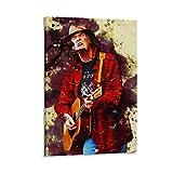 baozou Smudge Neil Young Poster dekorative Malerei Leinwand