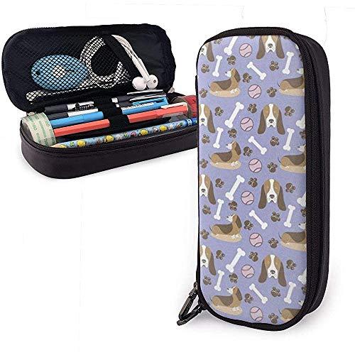 Estuche para lápices de gran capacidad, con cremalleras dobles, bolsa de cosméticos...