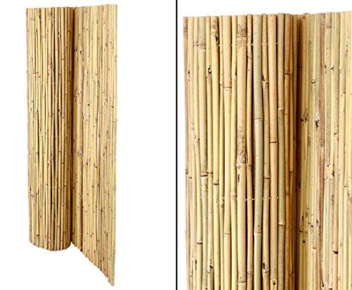 Bambusmatte Bali, extrem stabil, 150 x 300 cm, mit Draht durchbohrt und verbunden von Bambus-Discount