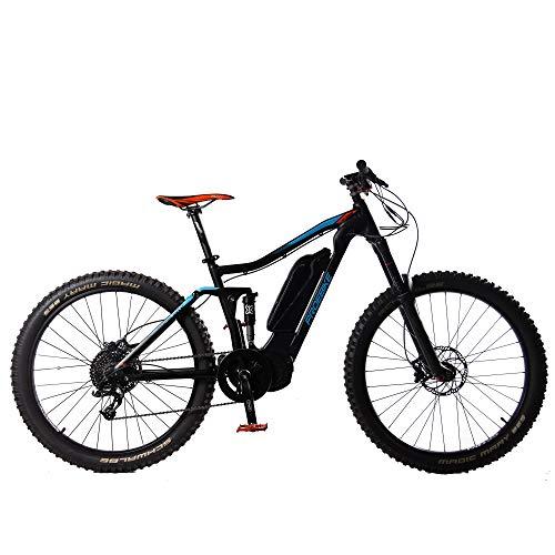 PROEBIKE Bicicleta eléctrica de 27.5 Pulgadas, Motor de Media Velocidad de 1000W,...