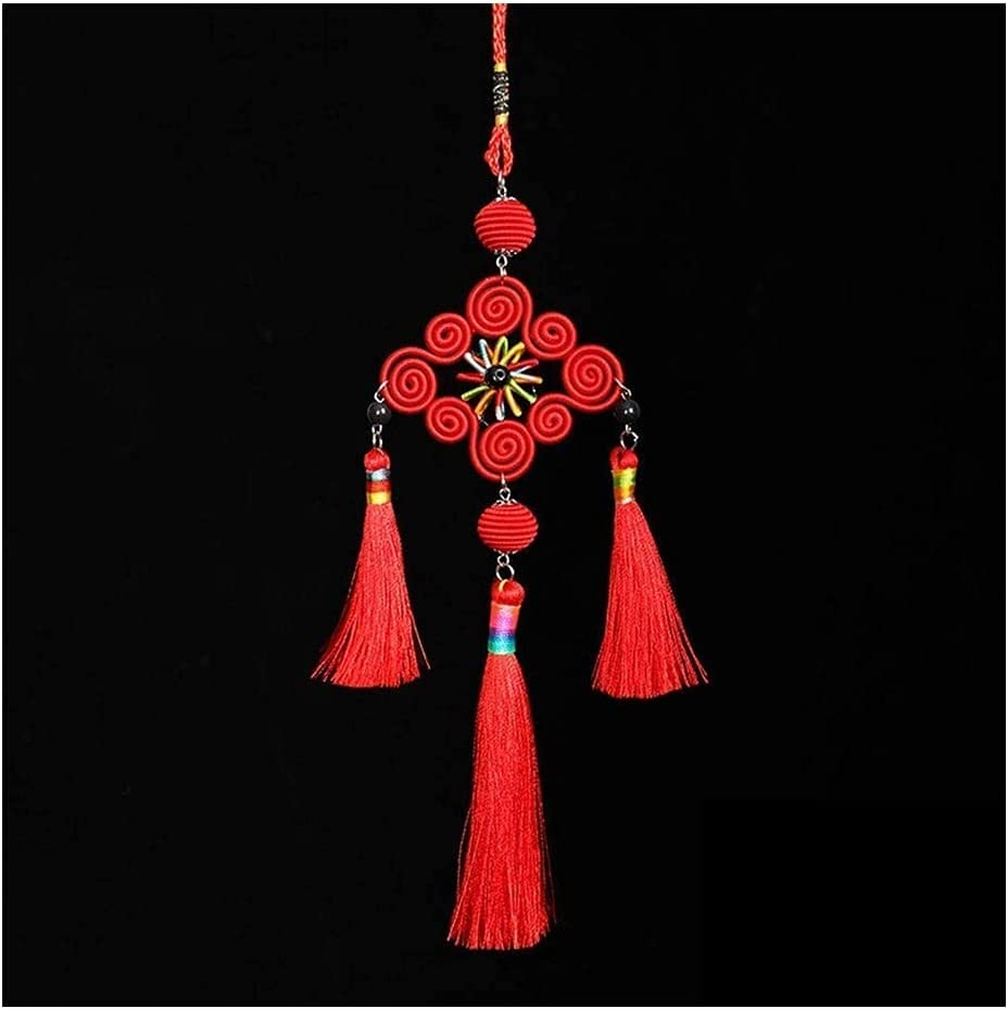 CZLSD Dallas Mall Chinese New Year shopping Tassel Decorations Pend Knot