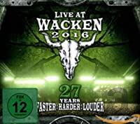 Live at Wacken 2016 - 27 Years Faster : Harder [Blu-ray]