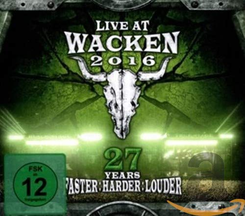Live At Wacken 2016-27 Years Faster Harder Louder [Blu-ray]