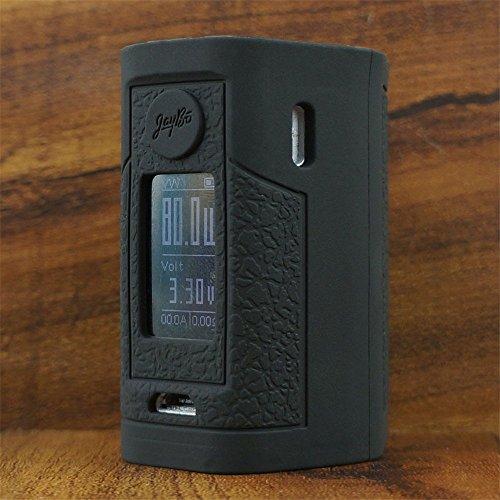 ModShield for Wismec Reuleaux RXmini 80W TC by JayBo Silicone Case ByJojo Sleeve Cover RX MINI 80 W Skin Wrap Shield (Black)