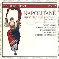 Napolitaine : Villanelle Arie e Moresche