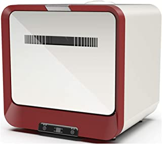 Lavavajillas de encimera portátil, sin necesidad de agregar agua, lavadora de platos de frutas y verduras multifunción automática inteligente para el hogar