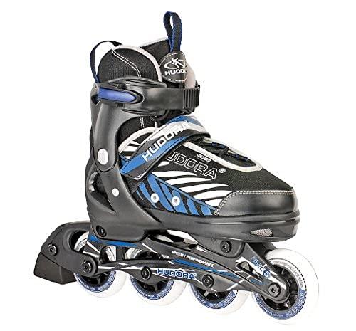 HUDORA Kinder Inliner Leon - Gr. 29 - 32, schwarz/blau - Inline-Skates - 28232