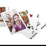 RecontraMago Barajas de Cartas Personalizadas con Tu Foto y Texto - Barajas de Poker - HQ Impresión Divertidas