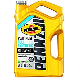 Pennzoil 550038111 Platinum SAE 0W-20 Full Synthetic Motor Oil review