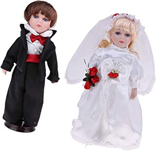 Best bride and groom porcelain dolls Reviews