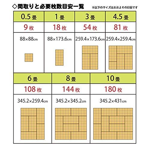コモライフ『コルクマット18枚組』