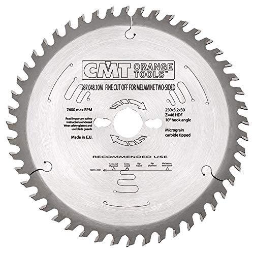 CMT Orange Tools 287,048,10 m dent concavo scie circulaire 250 x 30 x 3,2 z 48