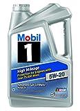 8.Mobil 1 High Mileage 5W-20 Motor Oil