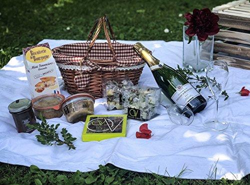 NOEL: Panier Gourmand Crémant de Bourgogne