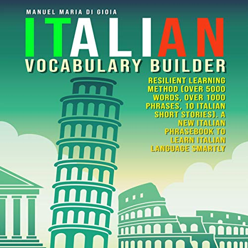 Couverture de Italian Vocabulary Builder: Resilient Learning Method