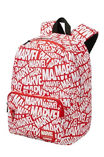 American Tourister Urban Groove Disney - Lifestyle Rucksack, 40 cm, 22 L, Mehrfarbig (Marvel Logo)