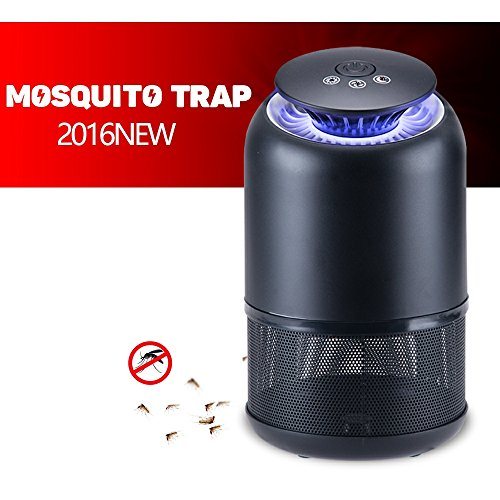 iHubr, Indoor Mosquito Killer, Efficiency eliminates Mosquitoes – No smell or harmful chemicals! Stylish Design and High Efficiency Mosquito Trap