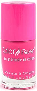 Color Fever Neon Pink Nail Lacquer