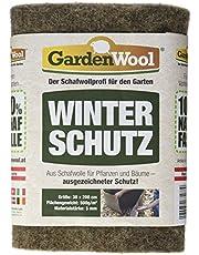 Gardenwool GW-SWFG53020 - Alfombrilla de protección de Invierno (200 x 100 x 0,5 cm, 500 g/m²), Color Gris