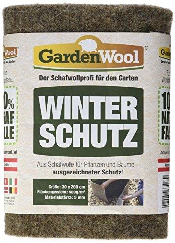 Gardenwool SWFG53020 Winterschutzmatte, Grau, 200 x 30 x 0.5 cm