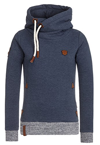 Naketano The Dark Side Hoodie Indigo Blue Melange S