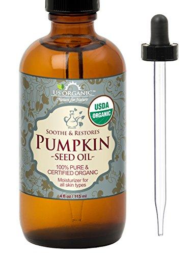 US Organic Pumpkin Seed Oil, USDA Certified Organic,100% Pure & Natural,...