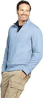 Lands' End Men's Bedford Rib Quarter Zip Sweater