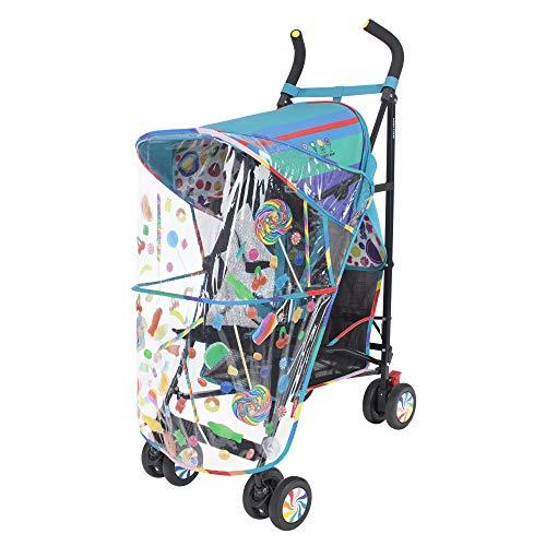 Maclaren Volo Dylan's Candy Bar Buggy – Erweiterbares UPF50+/wasserdichtes Verdeck, 4-Rad-Federung und übergroßer Korb.  Beinhaltet: Sitzpolster, Regenschutz, ID-Tag, Tragegriff.