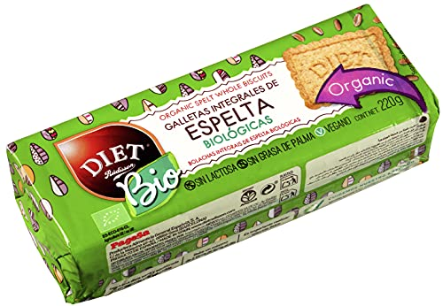 Diet Radisson Galletas Integrales de Espelta Biológicas 220 g
