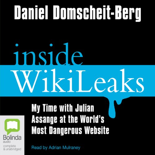 Inside Wikileaks audiobook cover art