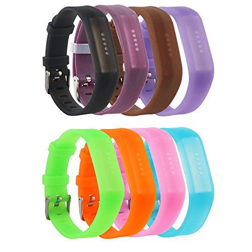 fit-power Fitbit Flex 2 cinghia, morbido silicone Replacemant fascia accessori Wristband braccialetto con chiusura in metallo cinturino fasce Fasce per Fitbit Flex 2 attività fitness tracker
