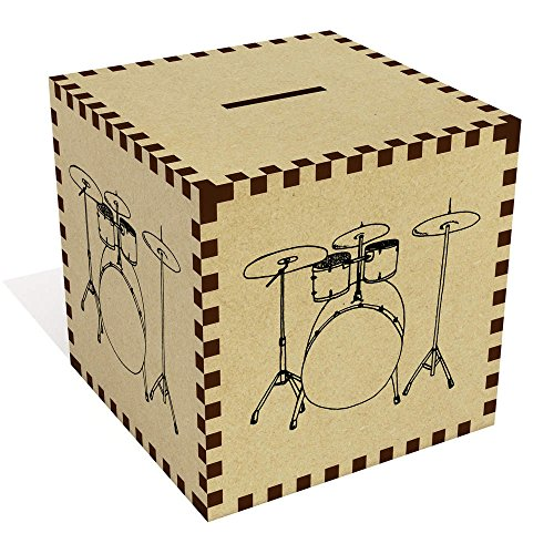 Azeeda Groß 'Schlagzeug' Sparbüchse / Spardose (MB00046384)
