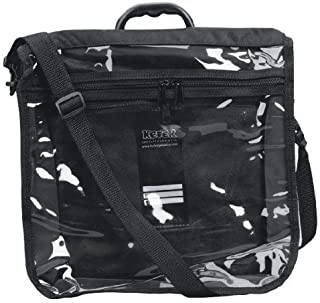 Tefilin Tote Rain Proof Clear Front Large