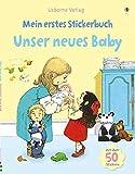 Mein erstes Stickerbuch: Unser neues Baby
